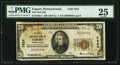 National Bank Notes:Pennsylvania, Export, PA - $20 1929 Ty. 1 The First NB Ch. # 7624. ...