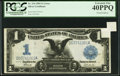 Error Notes:Large Size Errors, Fr. 234 $1 1899 Silver Certificate PCGS Extremely Fine 40PPQ.. ...