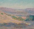 Fine Art - Painting, American:Modern  (1900 1949)  , John Frost (American, 1890-1937). Near Flintridge, 1921. Oilon canvas laid on board. 15 x 18 inches (38.1 x 45.7 cm). S...