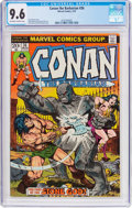 Bronze Age (1970-1979):Miscellaneous, Conan the Barbarian #36 (Marvel, 1974) CGC NM+ 9.6 Off-white towhite pages....