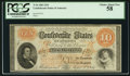 Confederate Notes:1861 Issues, T24 $10 1861 Cr. 164.. ...