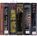 Books:Horror & Supernatural, Stephen King. The First Six Titles of The Dark Tower. NewHampshire: Donald M. Grant Publisher, [1982-2004]. Fir... (Total: 7Items)