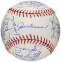 Autographs:Baseballs, 2004 New York Yankees Team Signed Baseball. ...