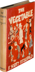 Books:Literature 1900-up, F. Scott Fitzgerald. The Vegetable. New York: CharlesScribner's Sons, 1923. First edition....