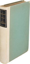 Books:Literature 1900-up, Ernest Hemingway. A Farewell to Arms. New York: CharlesScribner's Sons, 1929. First edition, limited issue, limited...