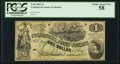 Confederate Notes:1862 Issues, T45 $1 1862 PF-1 Cr. 342.. ...