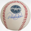 Autographs:Baseballs, 2009 Yankee Stadium Derek Jeter Single Signed Baseball....