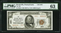 National Bank Notes:Pennsylvania, Brookville, PA - $50 1929 Ty. 2 The NB of Brookville Ch. # 3051....