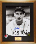Autographs:Photos, Ted Williams Signed Oversized Photograph. ...