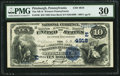 National Bank Notes:Pennsylvania, Pittsburgh, PA - $10 1882 Date Back Fr. 540 The NB of WesternPennsylvania Ch. # (E)4918. ...