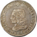 (1659) 6PENCE Maryland Lord Baltimore Sixpence, Small Bust, Hodder-2-C, W-1060, R.5, XF45 NGC. ...(PCGS# 33)