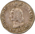 Colonials, (1659) 4PENCE Maryland Lord Baltimore Groat (Fourpence), Large Bust, Hodder 1-A, W-1010, R.6, XF45 NGC. ...