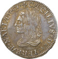 Colonials, (1659) SHILNG Maryland Lord Baltimore Shilling, Hodder 1-A, W-1080, R.6, AU50 NGC. ...