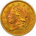 Early Quarter Eagles, 1832 $2 1/2 BD-1, R.4 - Improperly Cleaned - NGC Details. AU. ...