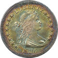 Early Quarters, 1796 25C B-1, R.4, MS64+ NGC. CAC....