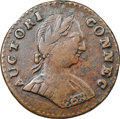 Colonials, 1787 CONNCT Connecticut Copper, Small Head Right, ETLIB INDE, M. 1.1-A, W-2700, R.3, VF35 NGC. ...