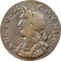 Colonials, 1786 CONNCT Connecticut Copper, Hercules Head, M. 5.3-N, W-2575, R.2, XF40 NGC. ...