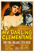 "Movie Posters:Western, My Darling Clementine (20th Century Fox, 1946). One Sheet (27"" X41"") Sergio Gargiulio Artwork.. ..."