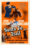 "Movie Posters:Western, Santa Fe Trail (Warner Brothers, 1940). One Sheet (27"" X 41"").. ..."