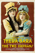"Movie Posters:Drama, The Two Orphans (Fox, R-1918). One Sheet (27.5"" X 41"") Style B....."