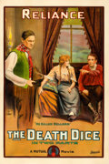 "Movie Posters:Drama, The Death Dice (Mutual, 1915). One Sheet (28.5"" X 42"").. ..."