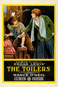 "Movie Posters:Drama, The Toilers (Lubin, 1916). One Sheet (27"" X 41"")."