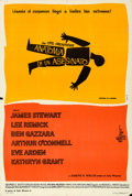 "Movie Posters:Drama, Anatomy of a Murder (Columbia, 1959). Argentinean One Sheet (29.25""X 43"") Saul Bass Artwork.. ..."