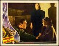 "Movie Posters:Horror, Frankenstein Meets the Wolf Man (Universal, 1943). Lobby Card (11""X 14"") Karl Goodwin Border Artwork.. ..."