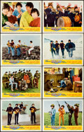 Movie Posters:Rock and Roll, Help! (United Artists, 1965). Lobby Card Set of 8 ...