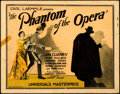 "Movie Posters:Horror, The Phantom of the Opera (Universal, 1925). Title Lobby Card (11"" X14"") Phantom Style.. ..."