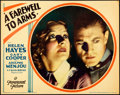 "Movie Posters:Drama, A Farewell to Arms (Paramount, 1932). Lobby Card (11"" X 14"").. ..."