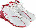 Basketball Collectibles:Others, 2003 Jason Williams Game Worn, Signed Sneakers....
