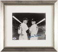 Autographs:Photos, Joe DiMaggio & Mickey Mantle Multi-Signed Photograph. ...