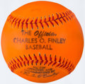 Autographs:Baseballs, The Official Charles O. Finley Baseball....