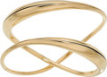 Estate Jewelry:Bracelets, Gold Bracelet, Michael Good The 14k gold brace...