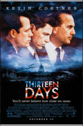 "Movie Posters:Drama, Thirteen Days & Others Lot (New Line, 2000). One Sheets (3) (27"" X 41"" & 27"" X 40"") DS Advance. Thriller.. ... (Total: 3 Items)"