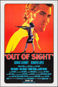 "Movie Posters:Crime, Out of Sight (Universal, 1998). One Sheets (2) (27"" X 40"") DSRegular & Advance Styles. Crime.. ... (Total: 2 Items)"