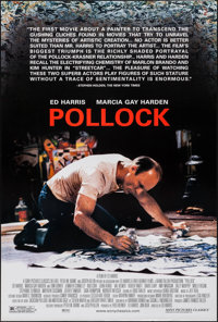 """Pollock & Other Lot (Sony Pictures Classics, 2000). Rolled, Very Fine+. One Sheets (6) (27"""" X 40"""" & 26..."""