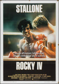 "Movie Posters:Sports, Rocky IV (MGM/UA, 1985). Italian 2 - Fogli (39.25"" X 55.25"").Sports.. ..."