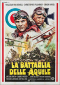 "Movie Posters:War, Aces High (Gold Film, 1977). Italian 4 - Fogli (55.25"" X 77.25"").War.. ..."