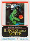 "Movie Posters:Horror, Cat People (BBC, R-1976). Italian 2 - Fogli (39.25"" X 55""). Horror.. ..."