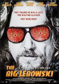 "The Big Lebowski (Polygram, 1998). Dutch Poster (13.75"" X 19.25""). Comedy"