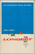 "Movie Posters:War, The Longest Day (20th Century Fox, 1962). One Sheet (27"" X 41""),Uncut Pressbook (10 Pages, 13"" X 16.5""), & Trade Ad (4 Page...(Total: 3 Items)"