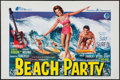 "Movie Posters:Comedy, Beach Party (American International, 1963). Belgian (14.25"" X21.5""). Comedy.. ..."