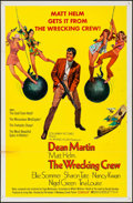 "Movie Posters:Action, The Wrecking Crew (Columbia, 1969). One Sheet (27"" X 41"") &Uncut Pressbook (11"" X 17""). Action.. ... (Total: 2 Items)"