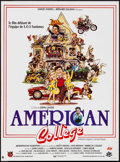 "Movie Posters:Comedy, Animal House (Universal, R-1985). French Petite (15.5"" X 21"").Comedy.. ..."