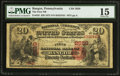 National Bank Notes:Pennsylvania, Bangor, PA - $20 1875 Fr. 435 The First NB Ch. # 2659. ...