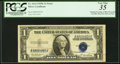 Error Notes:Doubled Third Printing, Fr. 1614 $1 1935E Silver Certificate. PCGS Very Fine 35.. ...