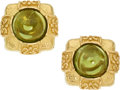 Estate Jewelry:Earrings, Peridot, Gold Earrings, Katy Briscoe. ...