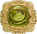 Estate Jewelry:Rings, Peridot, Gold Ring, Katy Briscoe. ...